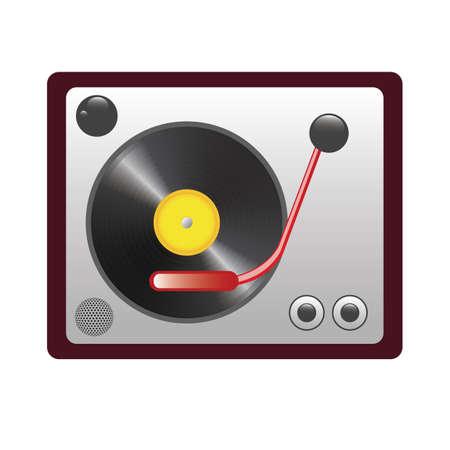DJ turntable Çizim