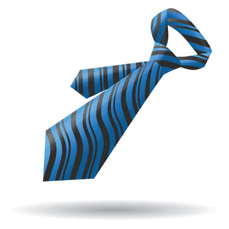 neck tie Stock Illustratie