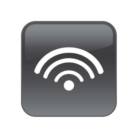 wifi icon  イラスト・ベクター素材