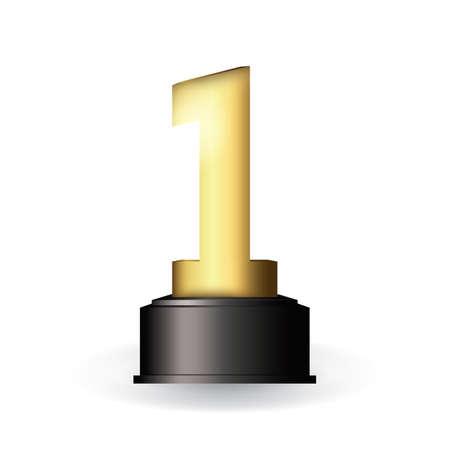 First trophy Vettoriali