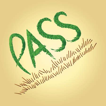 pass text