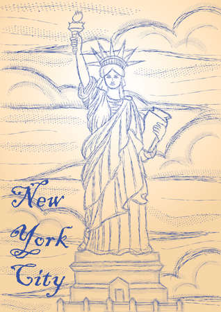 new york city drawing