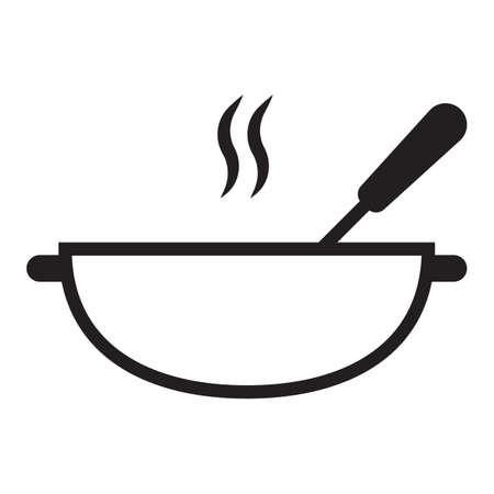kookpot en lepel