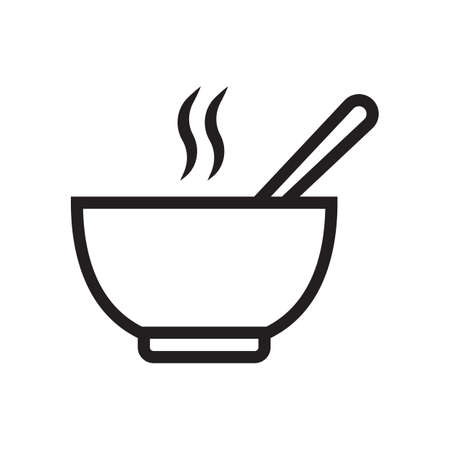 bowl of hot soup