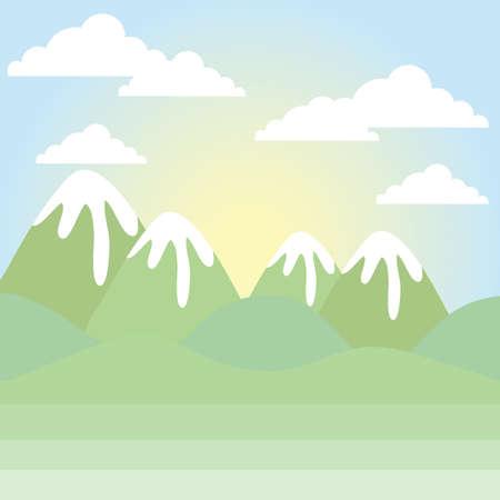 Scenic scenery