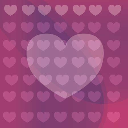 heart shaped background Illustration