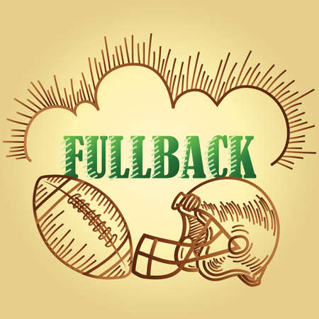 football fullback position text