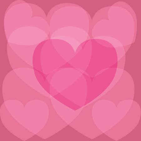 heart shaped design Ilustração