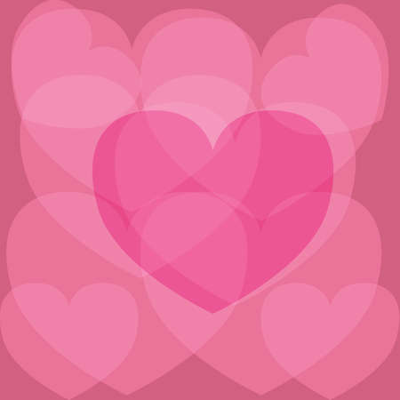 heart shaped design Illustration