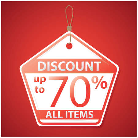 discount all items tag