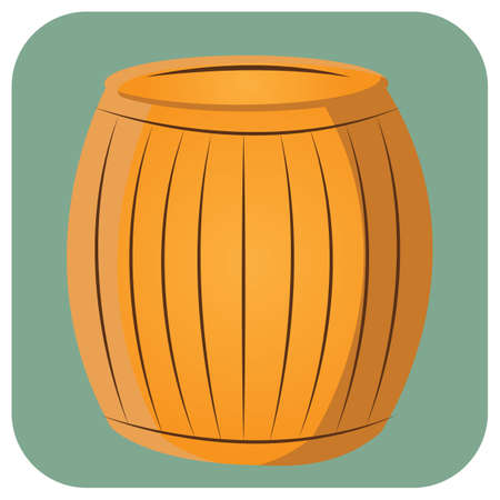 houten ton