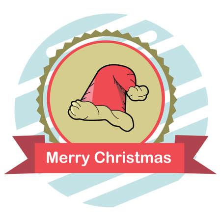 Weihnachtsmütze Standard-Bild - 81419142