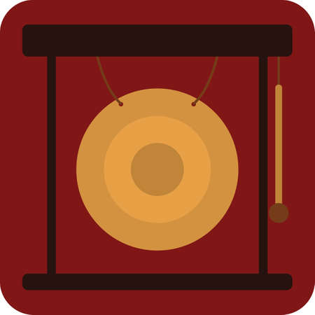 gong Иллюстрация