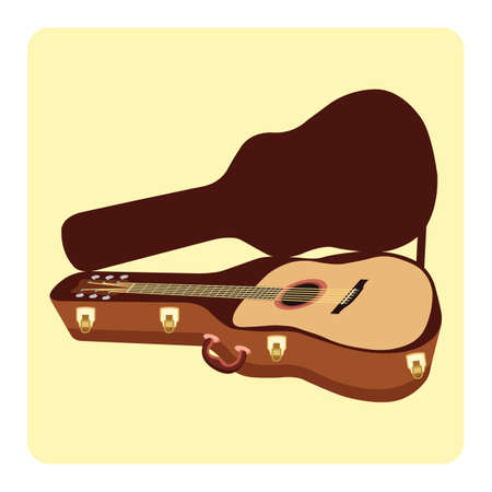 guitar in a guitar case