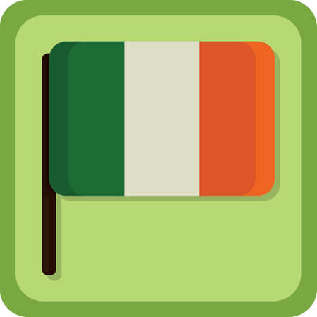 ireland flag Stockfoto - 106671110