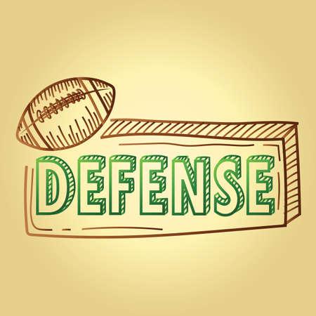 football strategy text defense