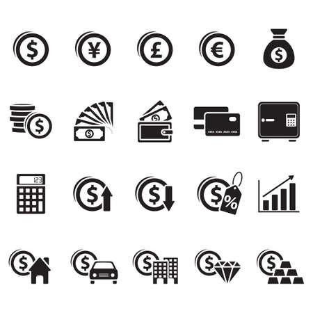 stockmarket: money icons