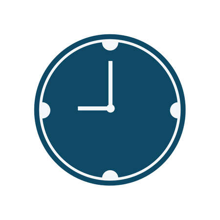 wall clock Stock Illustratie