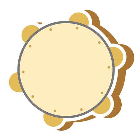 tamboerijn Vector Illustratie