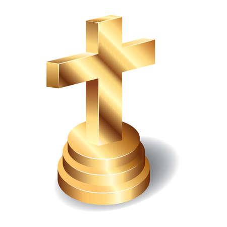 クリスチャン クロスのイラスト。  イラスト・ベクター素材