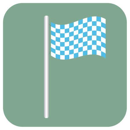 Beierse vlag Stock Illustratie
