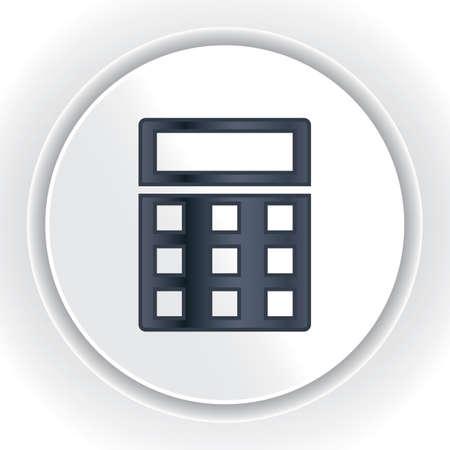calculadora Ilustración de vector