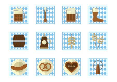 Wiesn-Icons Standard-Bild - 81419178