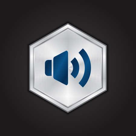 Le volume haut-parleur Banque d'images - 81538069