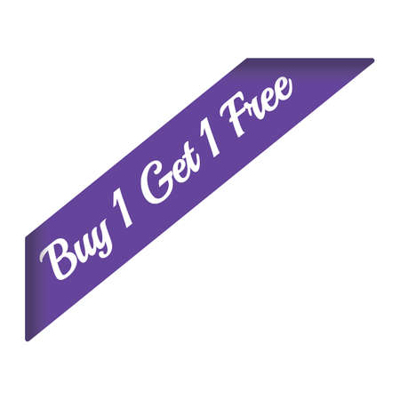 buy one get one free banner