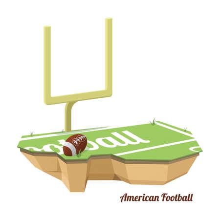 american football goal post