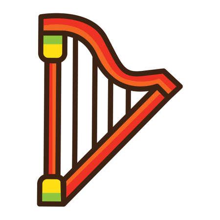 Harp  Foto de archivo - 81470336