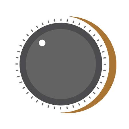 volumeknop Vector Illustratie