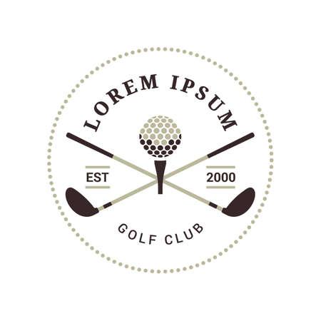 emblem of golf club