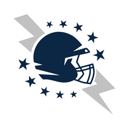 american football helmet badge