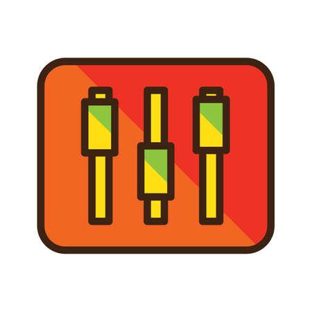 slider button Illustration