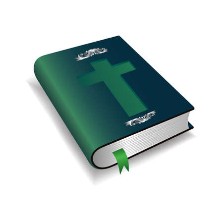 A holy bible illustration. Ilustrace