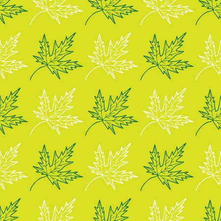 Leaves background 向量圖像