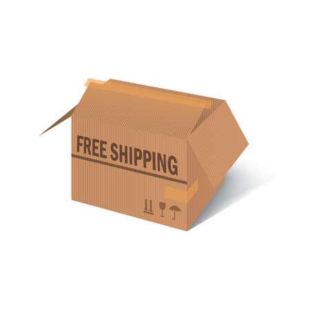 free shipping parcel box