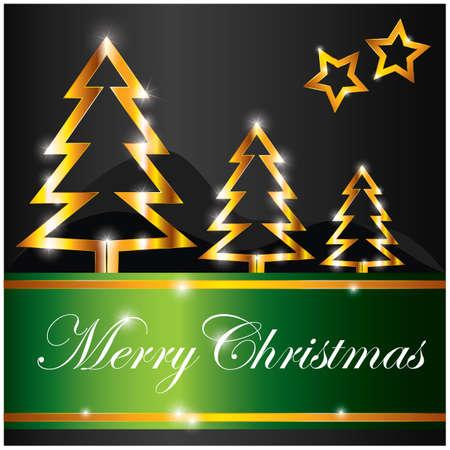 christmas greeting Illustration