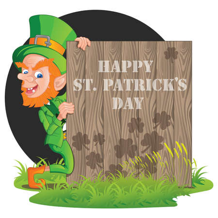 happy st. patricks day Ilustracja