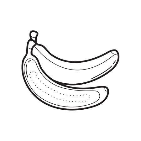 Banana icon Ilustracja