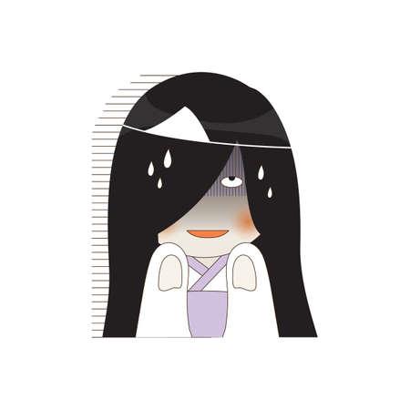 emotional ghost Illustration