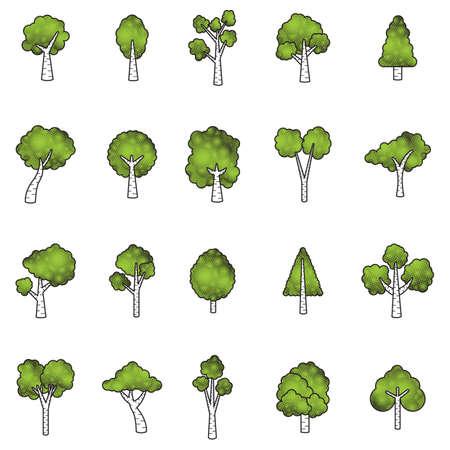 나무 세트