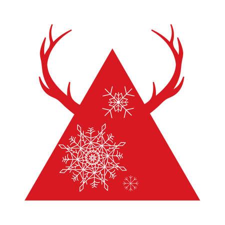 snowflakes Ilustracja