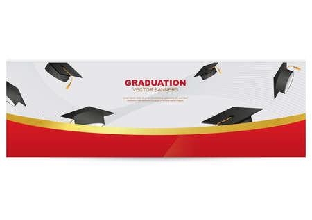 graduation banner Illustration