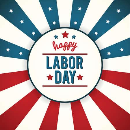 Cartel del Día del Trabajo Foto de archivo - 81537384