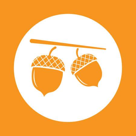 acorn  イラスト・ベクター素材