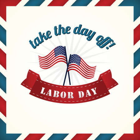 Labor day poster Stock fotó - 81537390