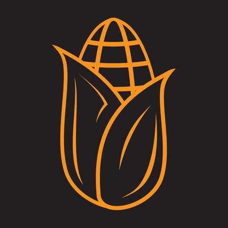 A corn illustration.