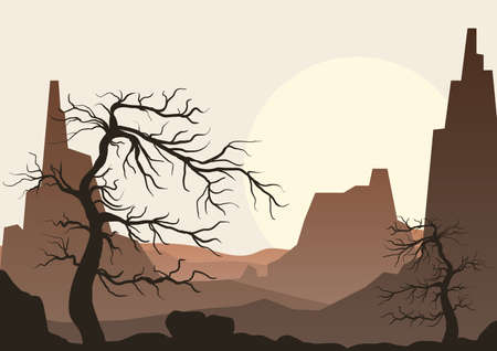desert landscape Фото со стока - 106671475